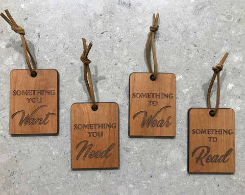 The Necessities Gift Tag Set