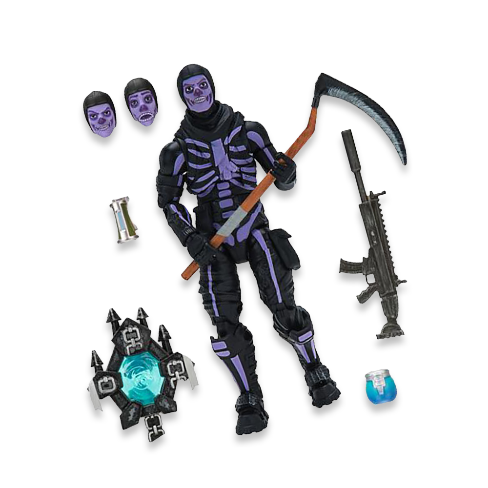 Legendary Figure: Skull Trooper with Purple Glow