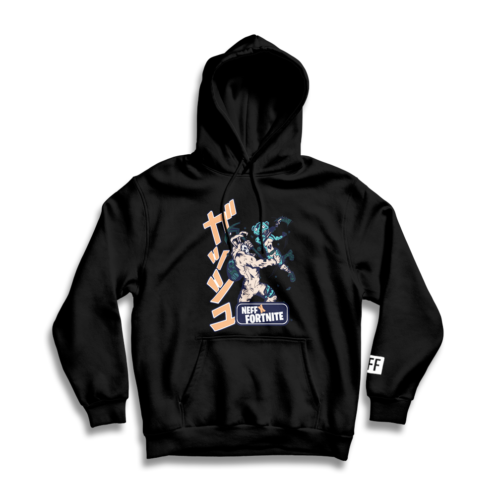 NEFF Manga Battle Fleece – Black