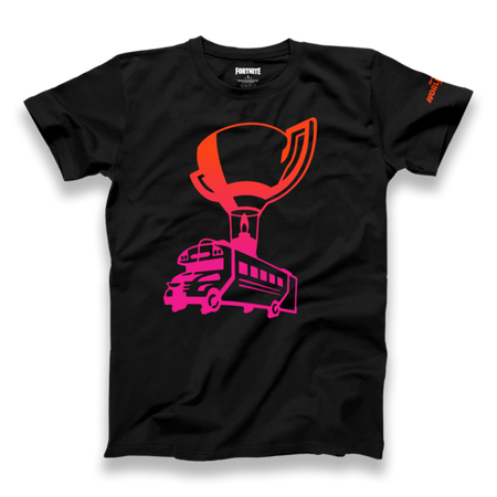 Fortnite World Cup Battle Bus Tee