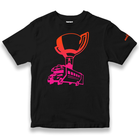 Fortnite World Cup Battle Bus Tee - Youth