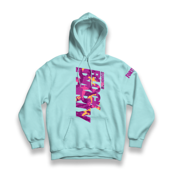 d45cdacd Block Party Mint Hoodie – Fortnite Retail Row
