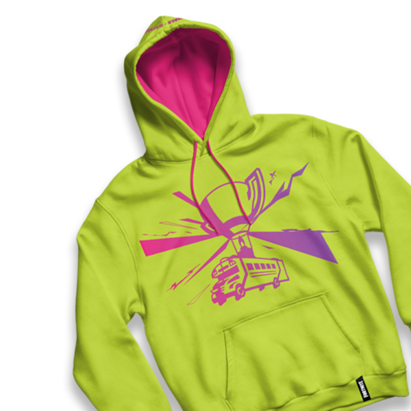 Fortnite World Cup Yellow Hoodie