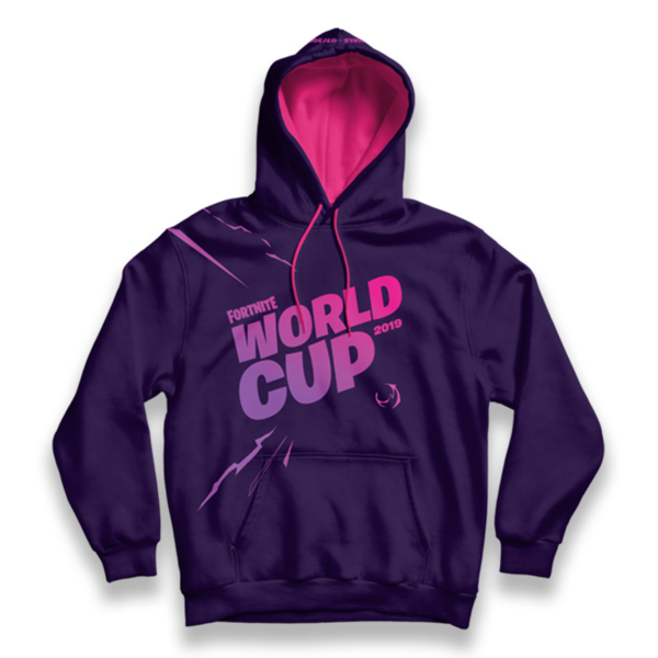 Fortnite World Cup Purple Hoodie