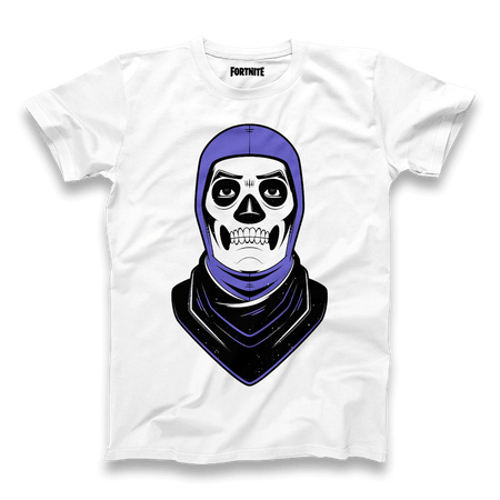 Skull Trooper Tee - White