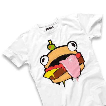 Durrr Burger White Tee