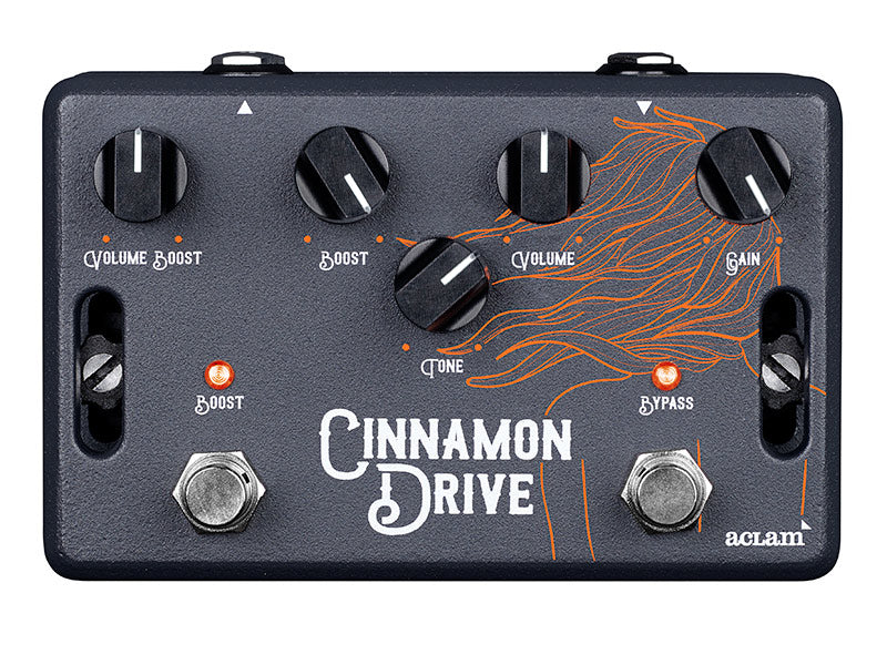 dual stage overdrive pedal cinnamon drive aclam aclam guitars. Black Bedroom Furniture Sets. Home Design Ideas