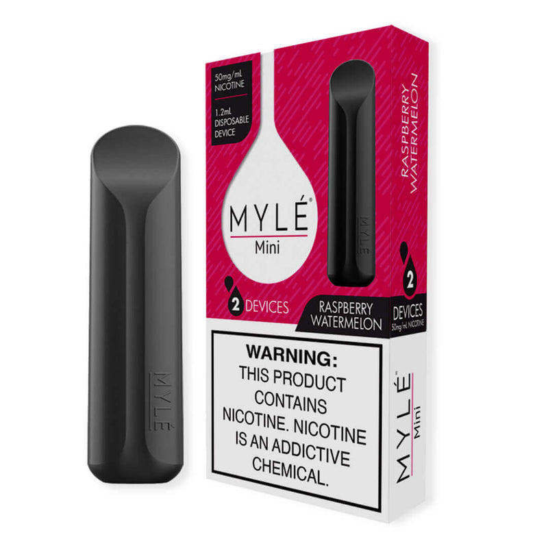 Myle Mini raspberry watermelon taste