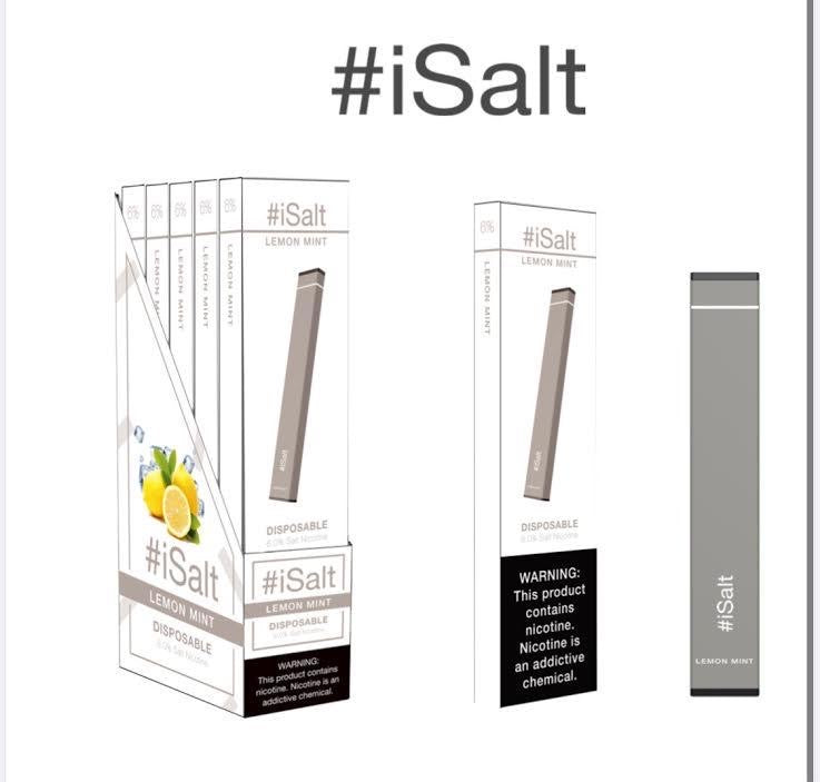 Nicotine Vape Device lemon mint flavor