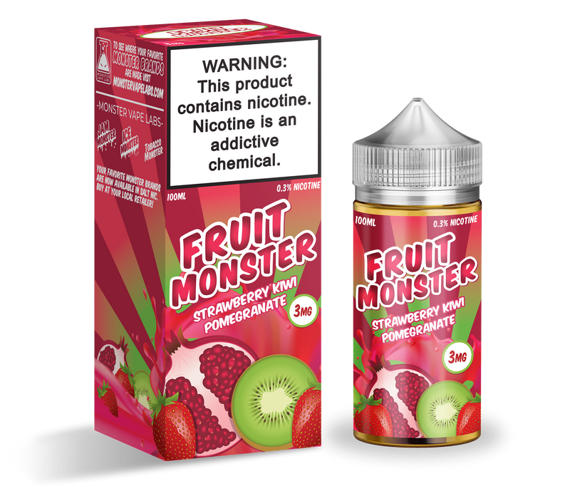 Jam Monster Vape Juice strawberry kiwi pomegranate