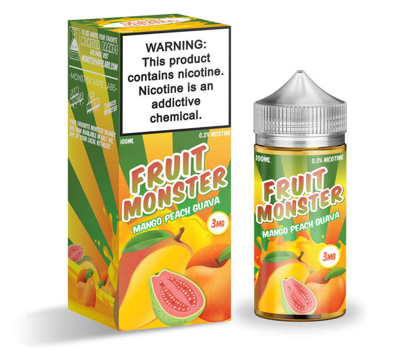 Jam Monster mango peach guava flavor