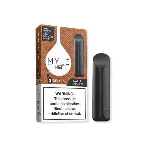 Myle Mini Disposable Vape Device sweet tobacco taste