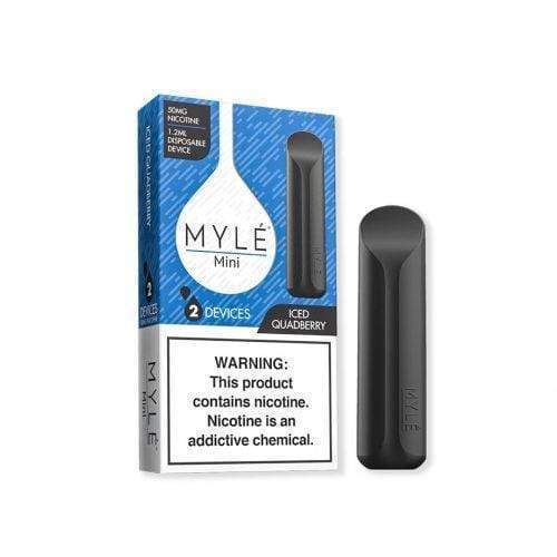 Myle Mini iced quadberry taste