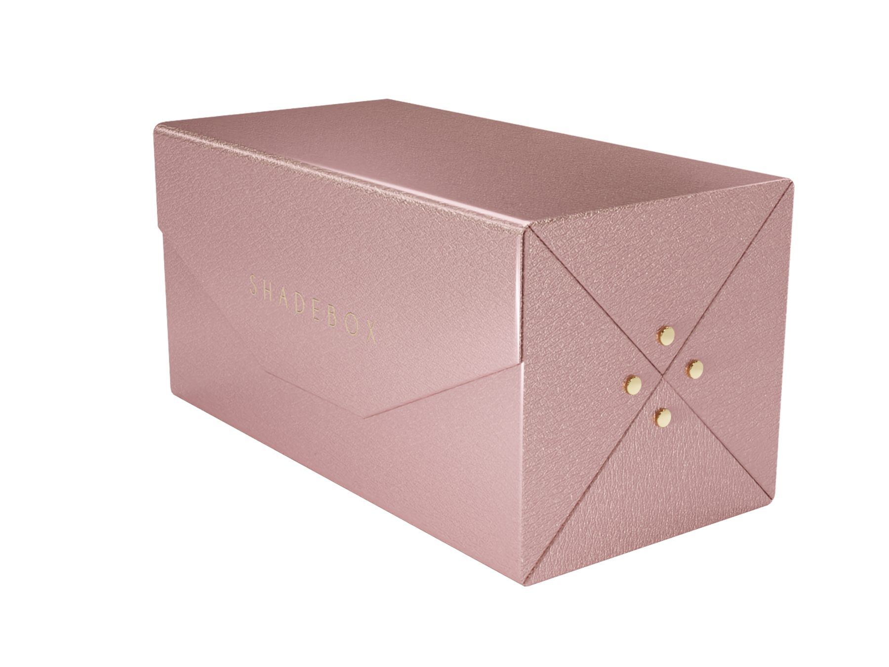 Fold Up Case 4 Piezas - Rose Gold