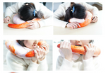 Load image into Gallery viewer, Shrimp neck pillow 360° neck support and take a high protein fresh nap)