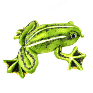 "Realistic Big Frog Plush (20"" & 10"")"