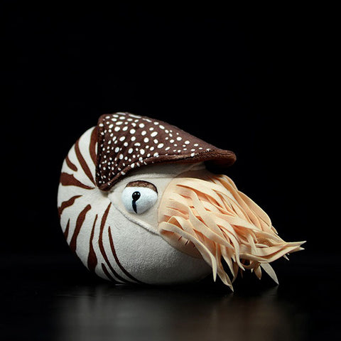 Chambered nautilus plush 20cm(8in) (Preorder now, ship after Feb-20)