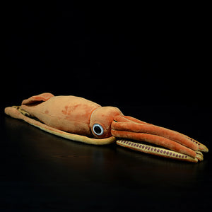 Stuffed giant squid Architeuthis dux plush 78cm long(31in)