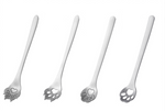 Load image into Gallery viewer, cat paw & dog paw teaspoons