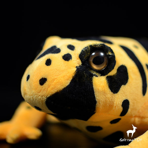 Poison dart frog plush Stuffed yellow banded poison dart frog 40cm(16in)