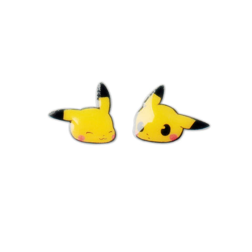 Pikachu stud earrings