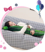 Load image into Gallery viewer, 3D big cucumber plush pillow