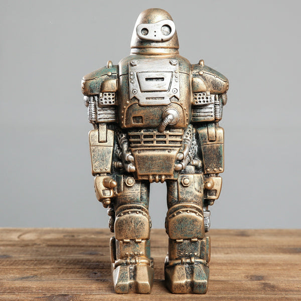 Retro Machinarium Style Robot Desktop Figur