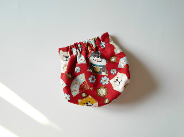 hand made coin purse earbud pouch lipstick purse