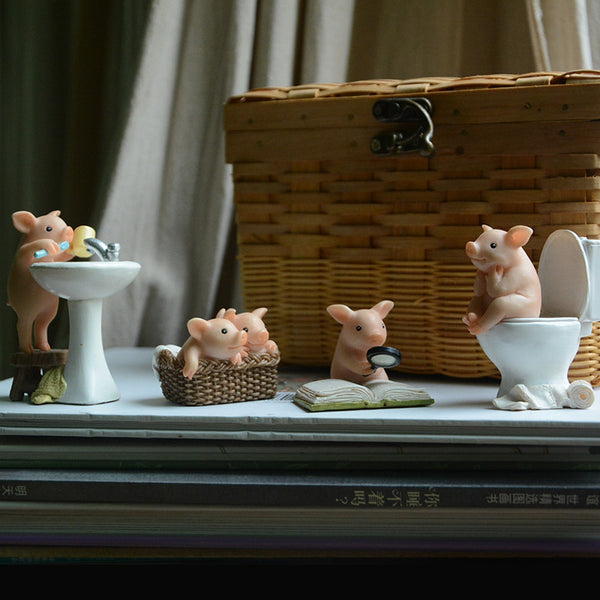 cute pig figurine