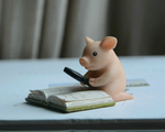 Load image into Gallery viewer, cute pig figurine