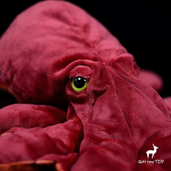 Realistic red octopus plush 40cm(16in)