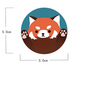 RED PANDA ATTACK badge