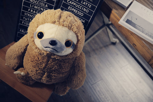Plush Sloth stuffed animal 16