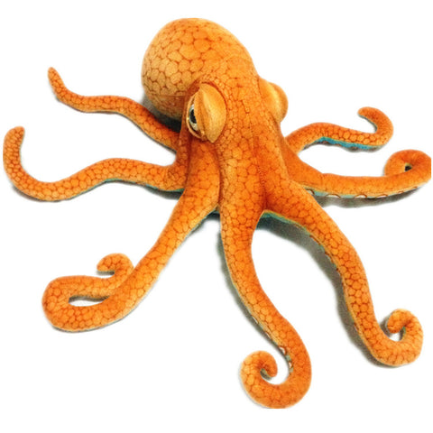 Realistic big octopus plush