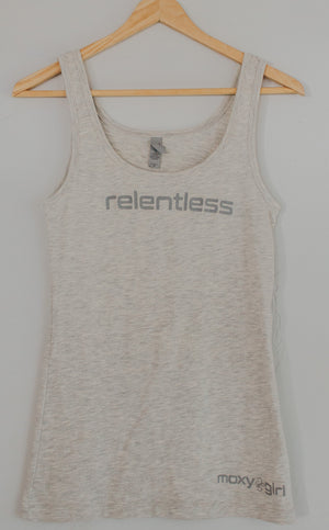 Relentless light heather grey tank