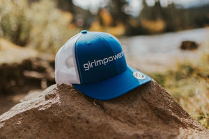 Girlmpowered Blue Trucker Hat