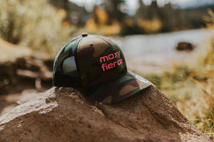 Moxy Fierce Camo Trucker hat