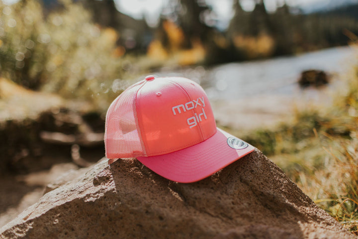 Pink Moxy Girl Trucker Hat