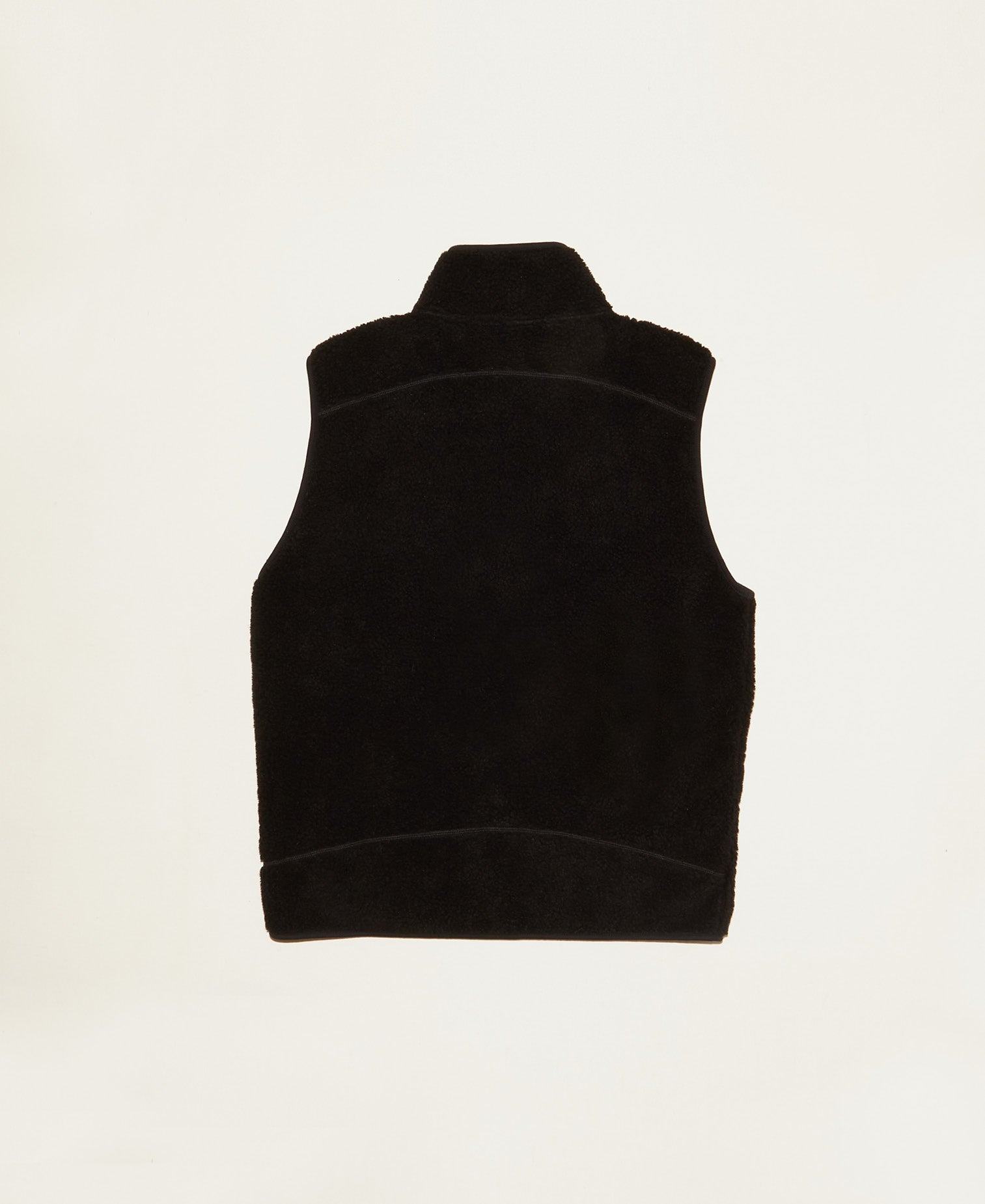 All Welcome Zip Thru Vest - Black