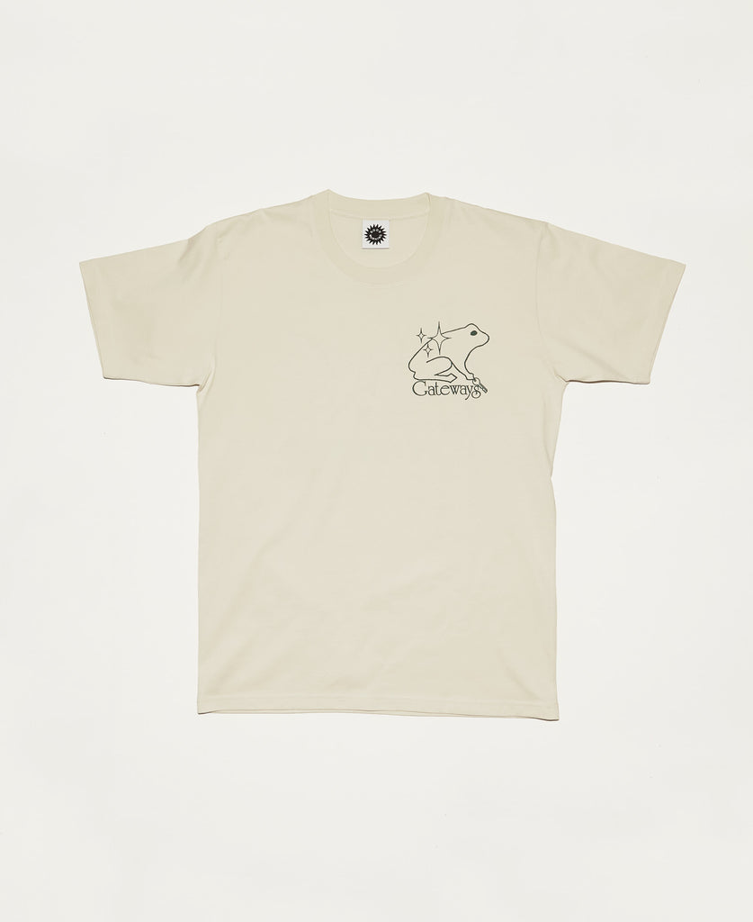 Gateways SS Tee - Natural