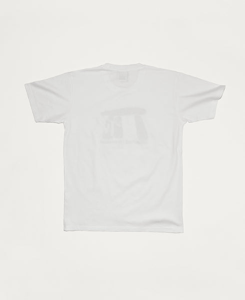 Megalithic TV SS Tee - White