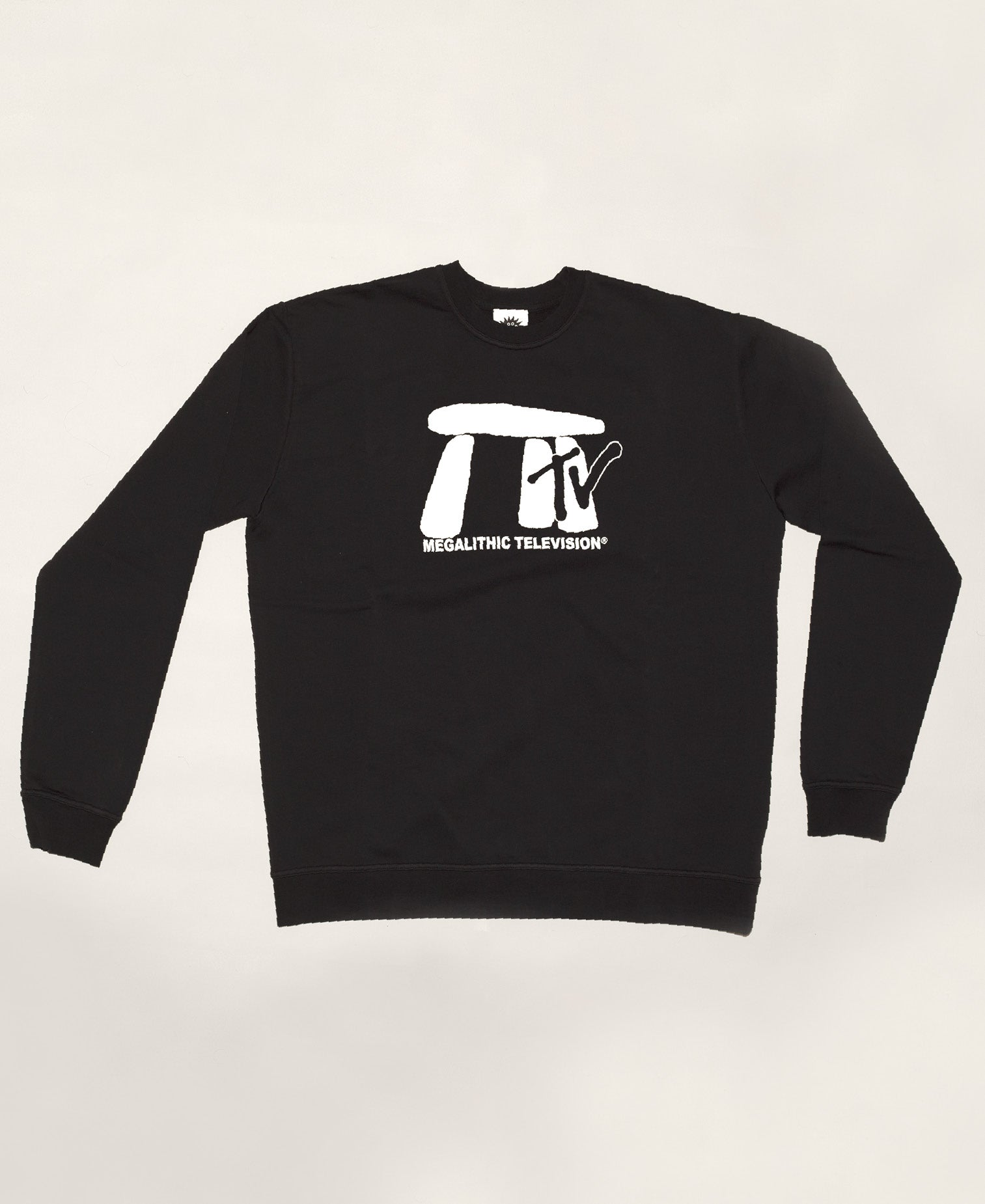Megalithic TV Crewneck Sweater - Black