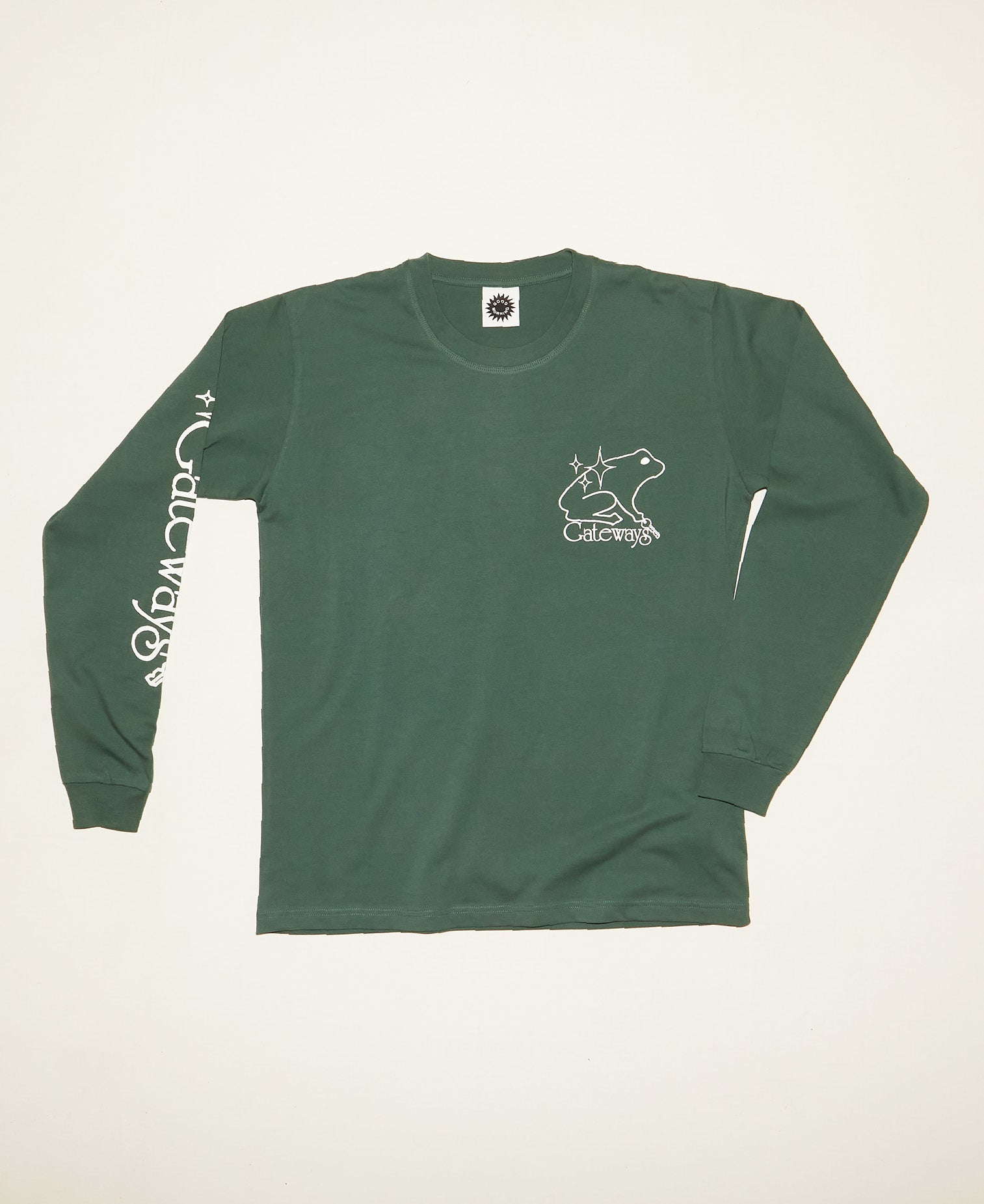 Gateways LS Tee - Amazon Green