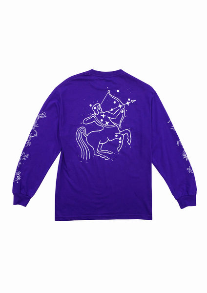 ASTROLOGY LS TEE - PURPLE