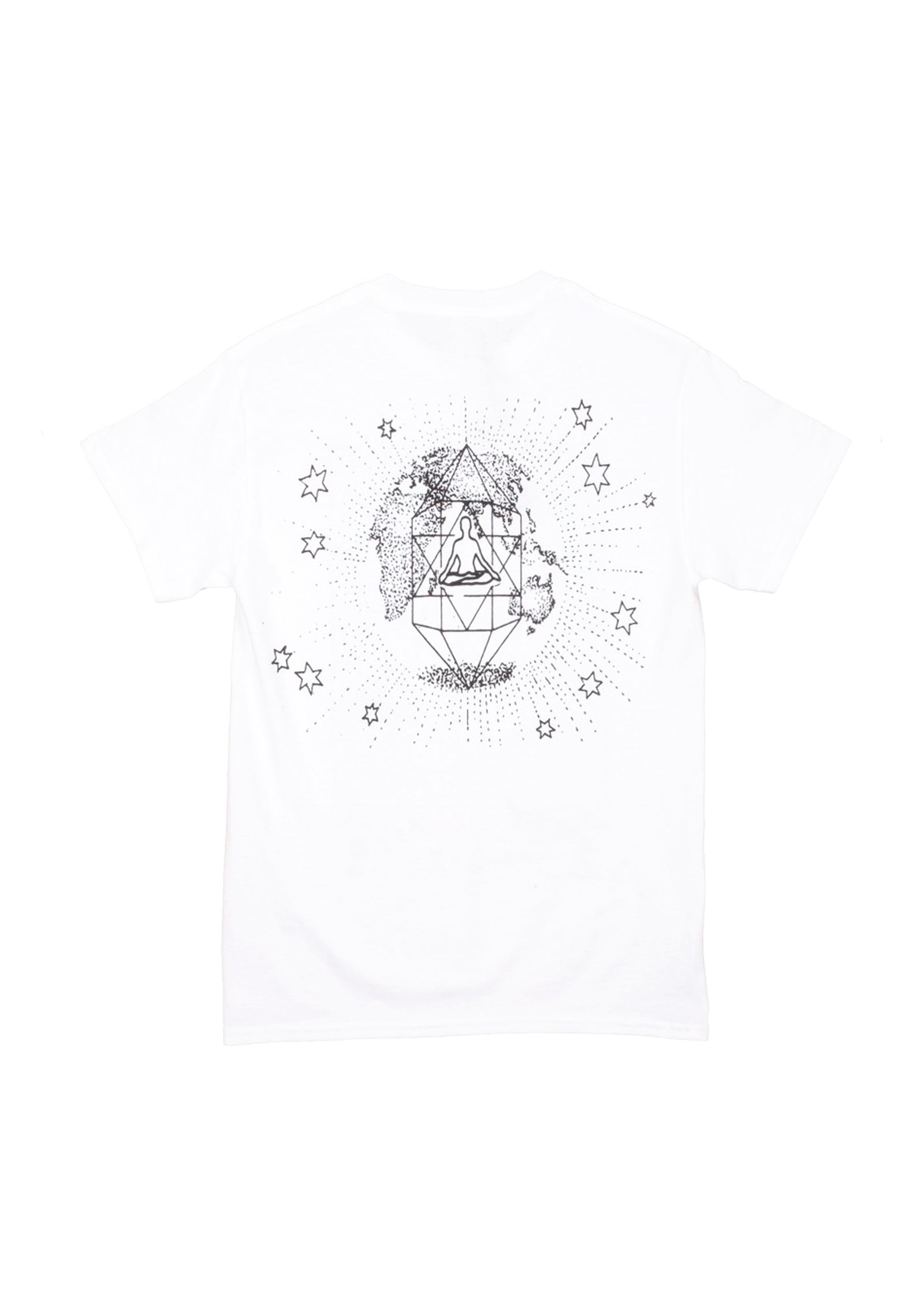 COSMIC CRYSTALS SS TEE - WHITE