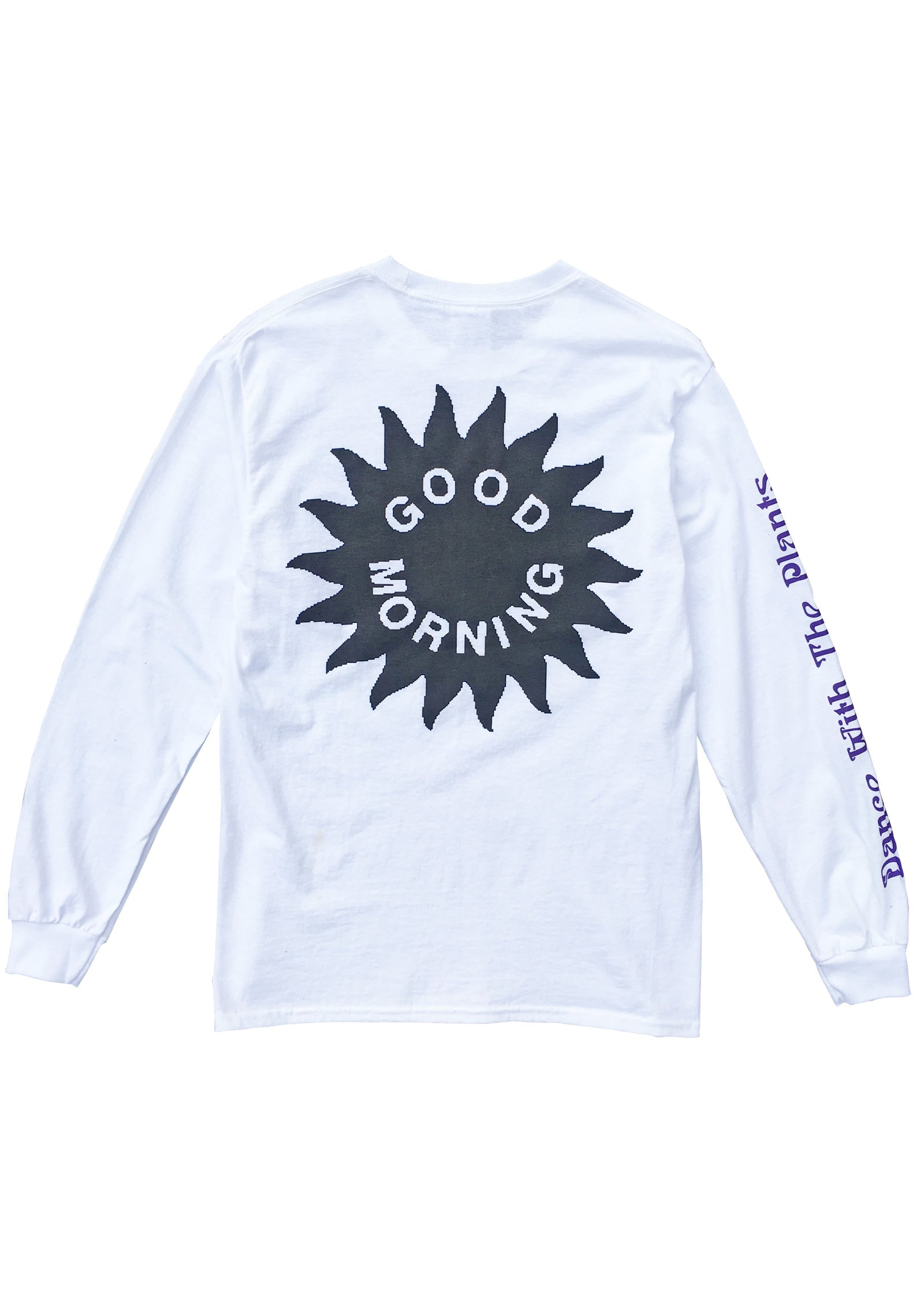 DANCE WITH THE PLANTS OG LS TEE - WHITE