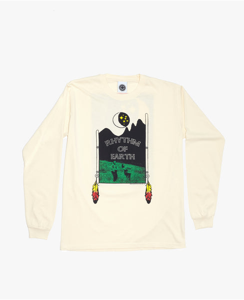Rhythm of Earth LS Tee - Natural