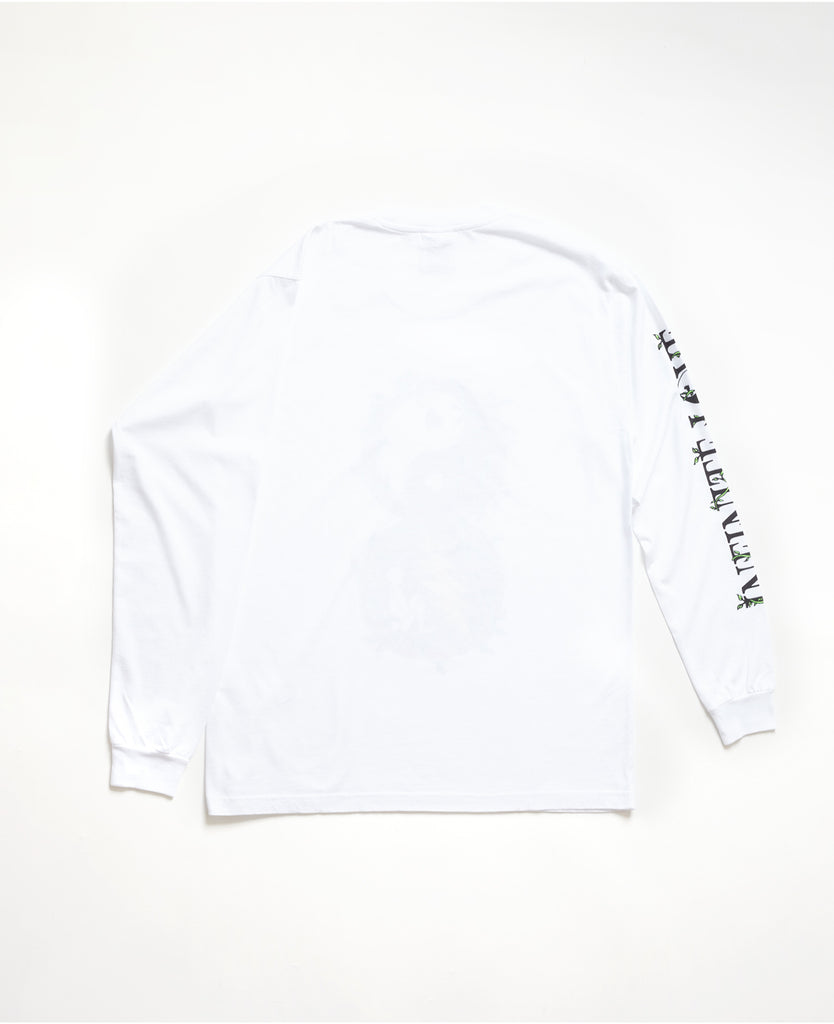 Infinite Love LS Tee - White