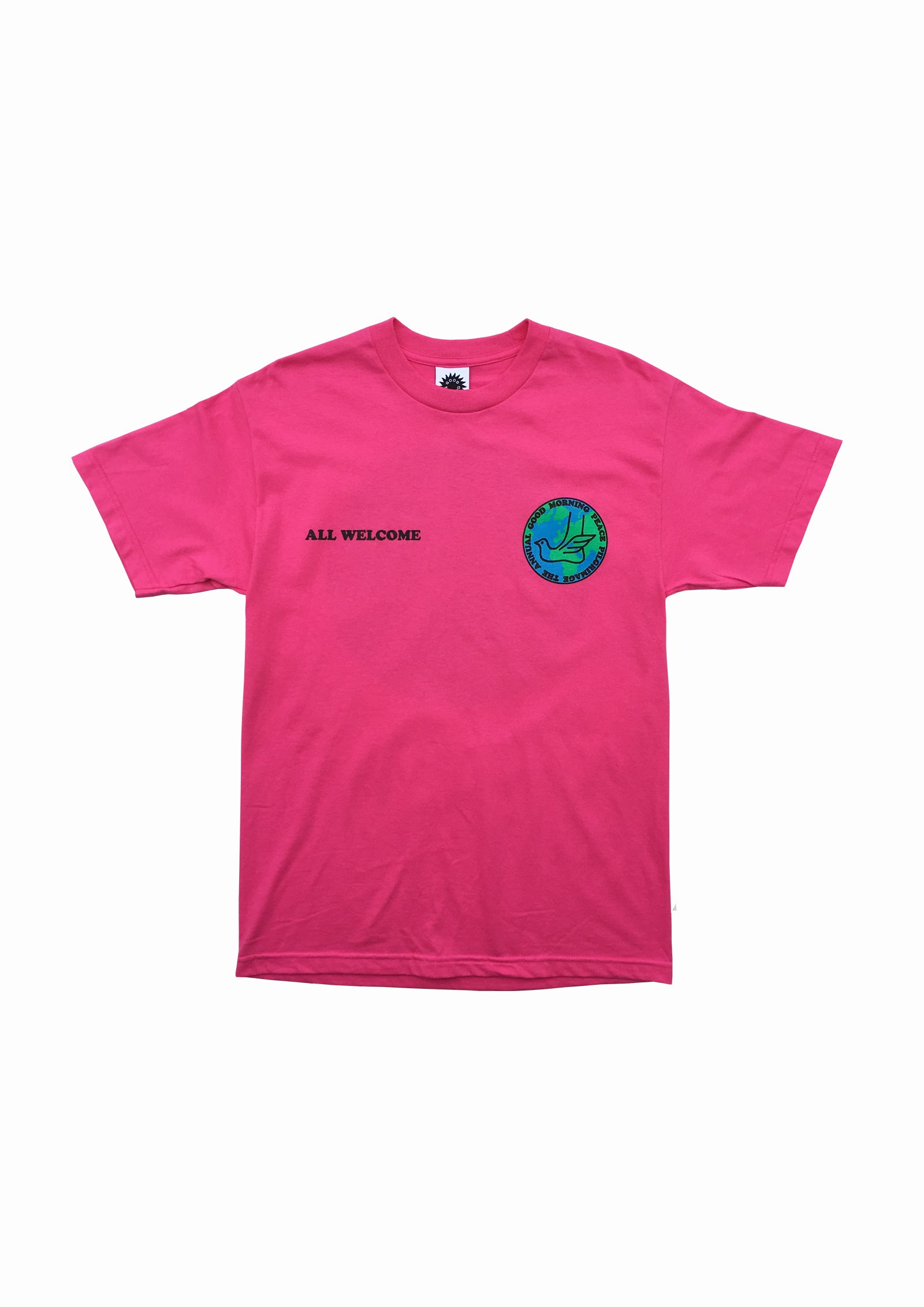 PEACE PILGRIMAGE SS TEE - PINK