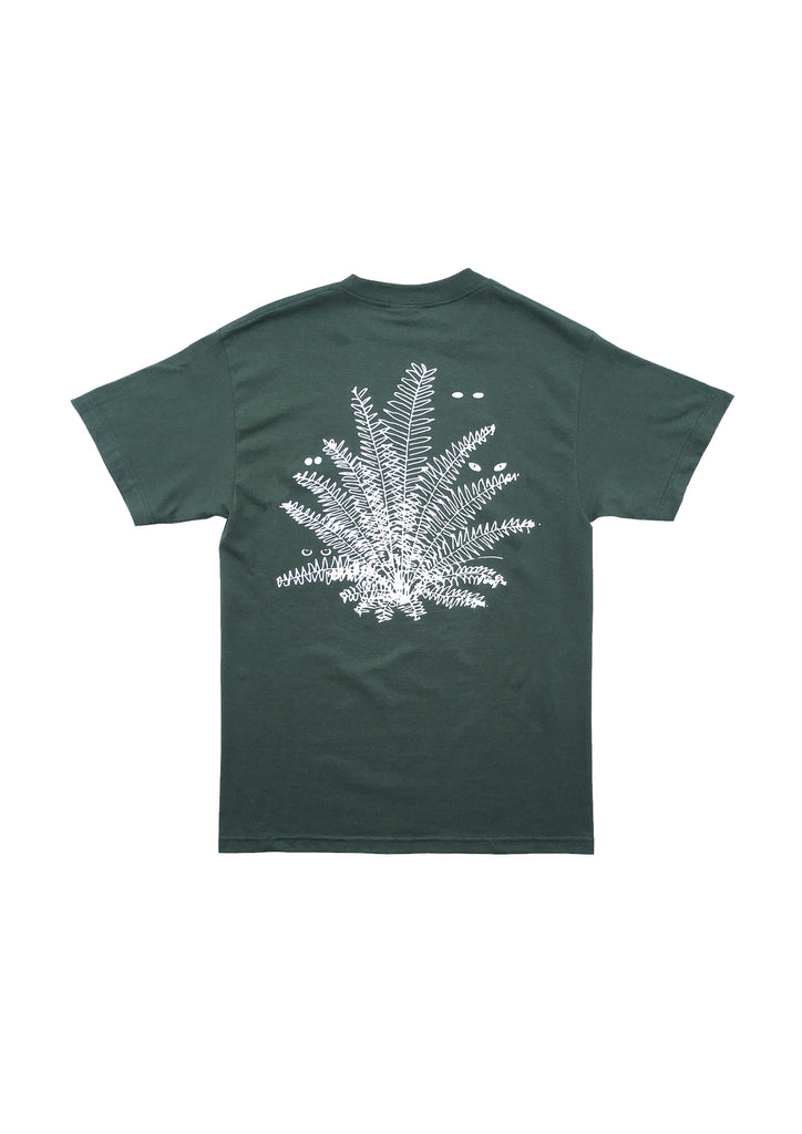 SUPER NATURAL SS TEE - DARK GREEN